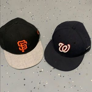 SF Giants and W hats